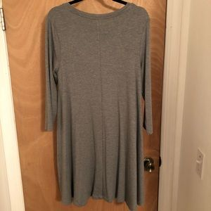 Kenar Dresses - Three-quarter Sleeve Dress